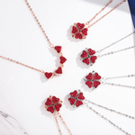 Load image into Gallery viewer, Magic Lucky Four Leaf Clover Necklace