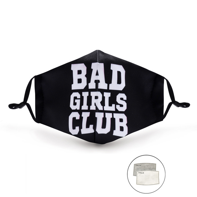 Masque imprimé Bad Girls Club