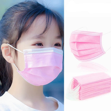 Masque chirurgical enfant rose