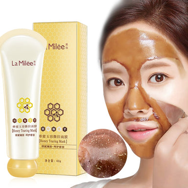 Masque miel point noir
