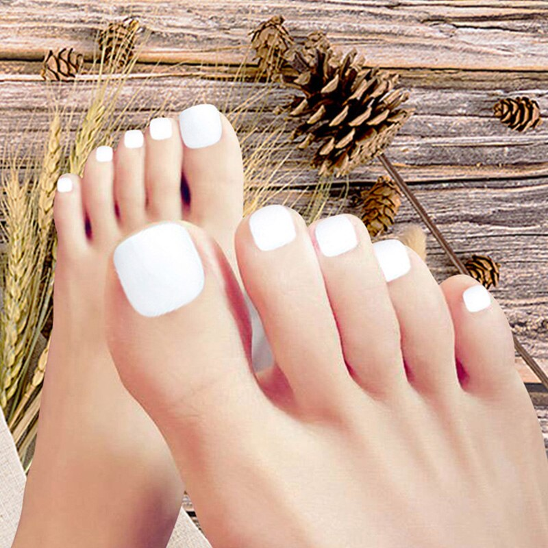 Faux ongles pieds à coller