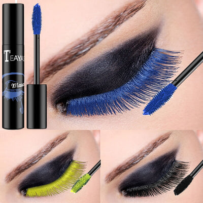 Mascara waterproof couleur
