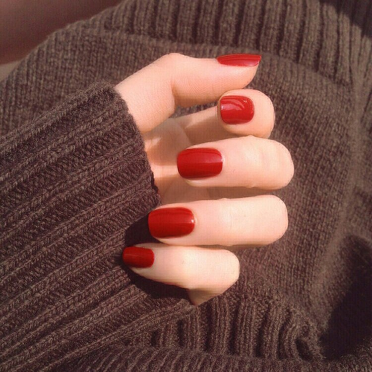 Faux ongles mi long