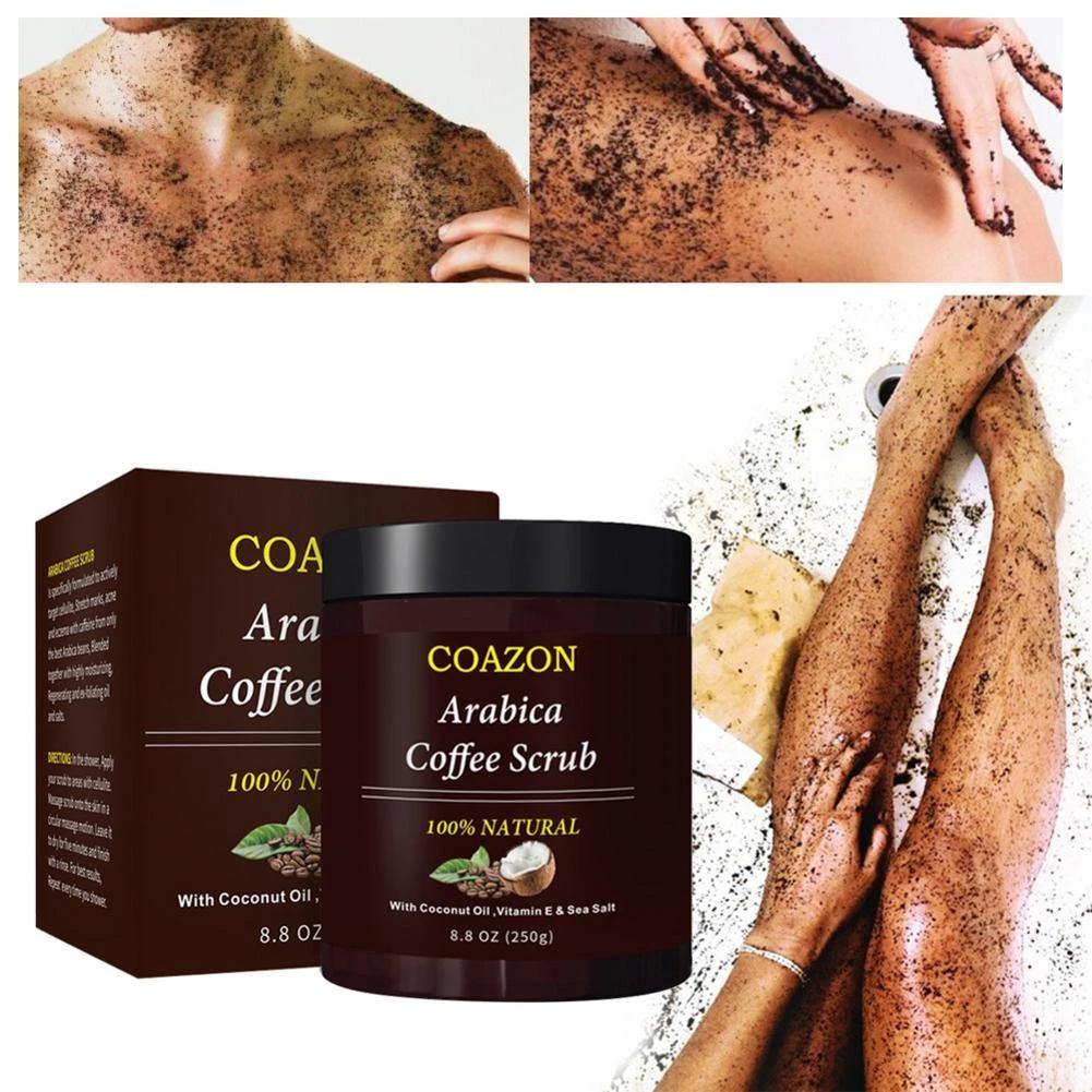 Gommage anti cellulite marc de café