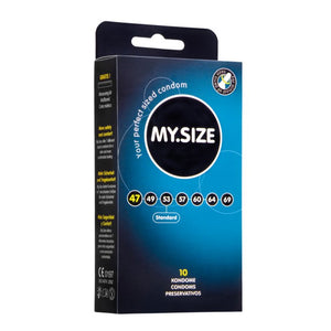 My.Size 47mm Condom 10 Pack - Sex Monster Sex Shop Online UK