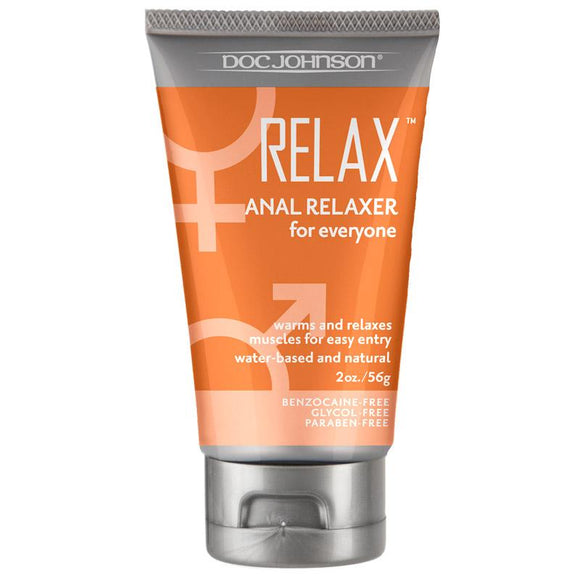 Relax Anal Relaxer For Everyone Waterbased Lubricant - Sex Monster Sex Shop Online UK