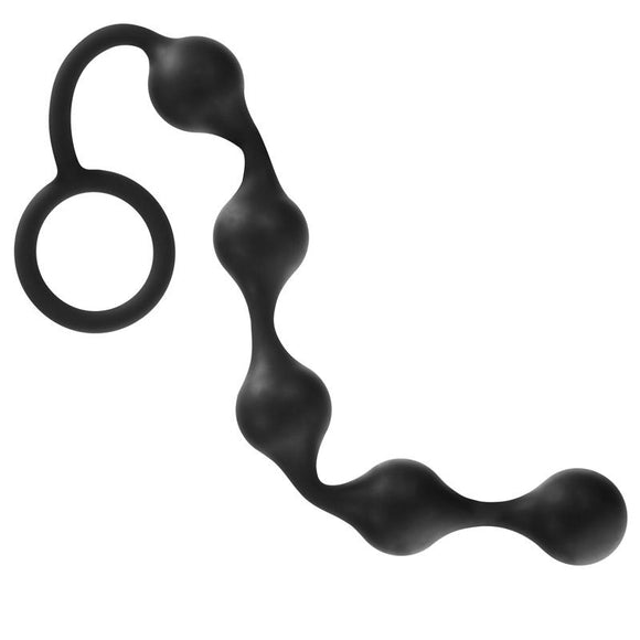Onyx Silicone Anal Beads - Sex Monster Sex Shop Online UK