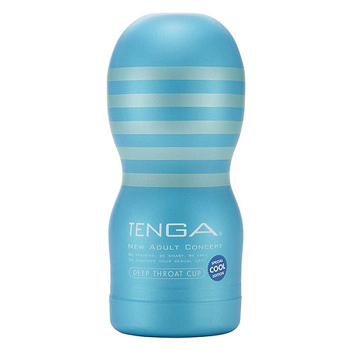 Tenga Deep Throat Cup Cool Edition Masturbator - Sex Monster Sex Shop Online UK