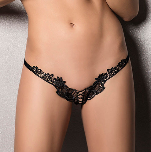 Passion Athena Thong Black - Sex Monster Sex Shop Online UK