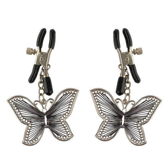 Fetish Fantasy Series  Butterfly Nipple Clamps - Sex Monster Sex Shop Online UK