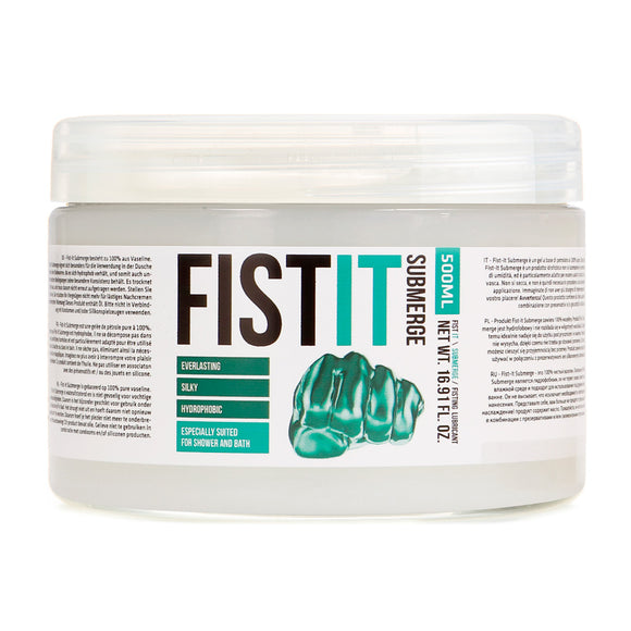 Fist It Submerge Petroleum Jelly 500ml - Sex Monster Sex Shop Online UK