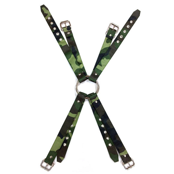 Rouge Army Camouflage Chest harness - Sex Monster Sex Shop Online UK