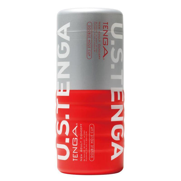 Tenga Double Hole Cup Ultra Size Masturbator - Sex Monster Sex Shop Online UK