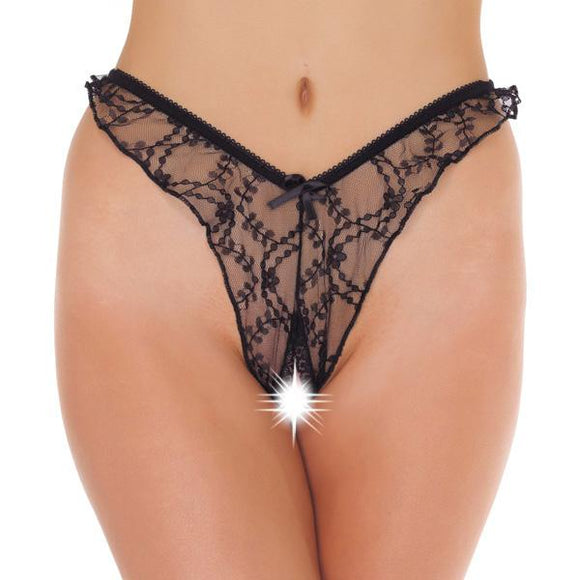 Brasilian Open Crotch GString - Sex Monster Sex Shop Online UK