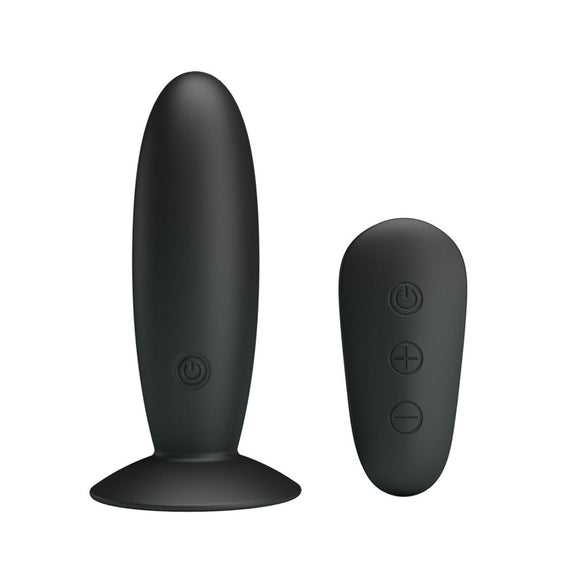 Mr Play Remote Control Vibrating Anal Plug - Sex Monster Sex Shop Online UK