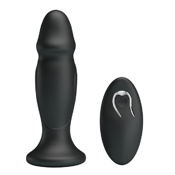 Mr Play Powerful Vibrating Anal Plug - Sex Monster Sex Shop Online UK