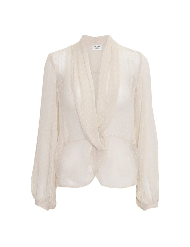 Day Birger Et Mikkelson Sound Blouse Cream