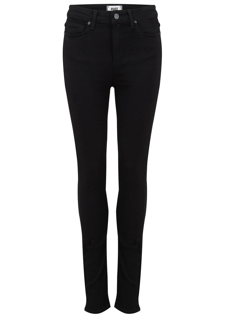 Paige Margot Ultra Skinny Black Shadow