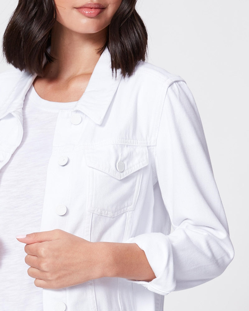 Paige Relaxed Vivienne Jacket White