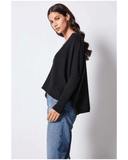 Not Shy Faustine Jumper Black