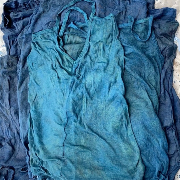 Judi Rosen organic cotton underwear, plant-dyed by hand
