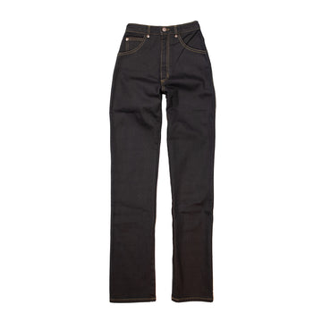 High Waisted Judi Jean • Stretch Denim Black