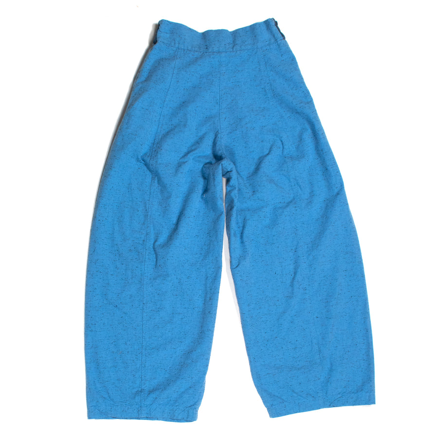 Salt & Pepper Paperbag Pants • Saxon Blue