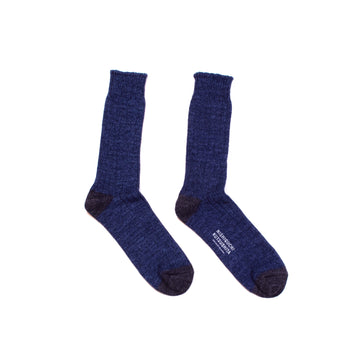 Japanese Recycled Cotton Ribbed Socks