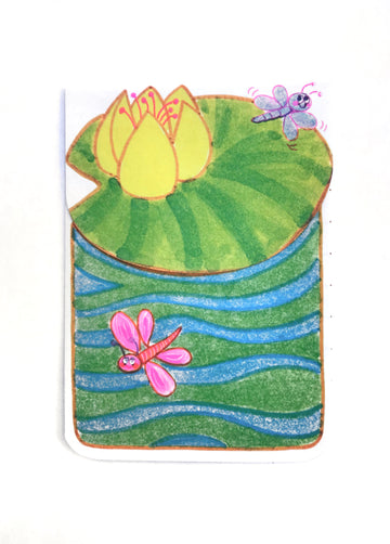 Lily Pad Note Cards