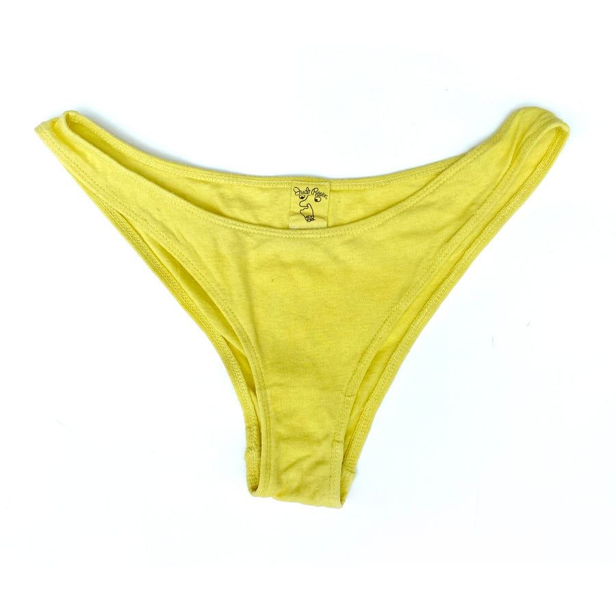 Organic Cotton & Hemp Panties •  Lemon Incense