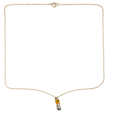 Teeny Tiny Cig • 14kt Gold Chain