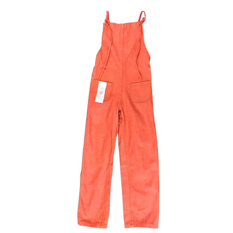 Overall Jumper • Coral Denim