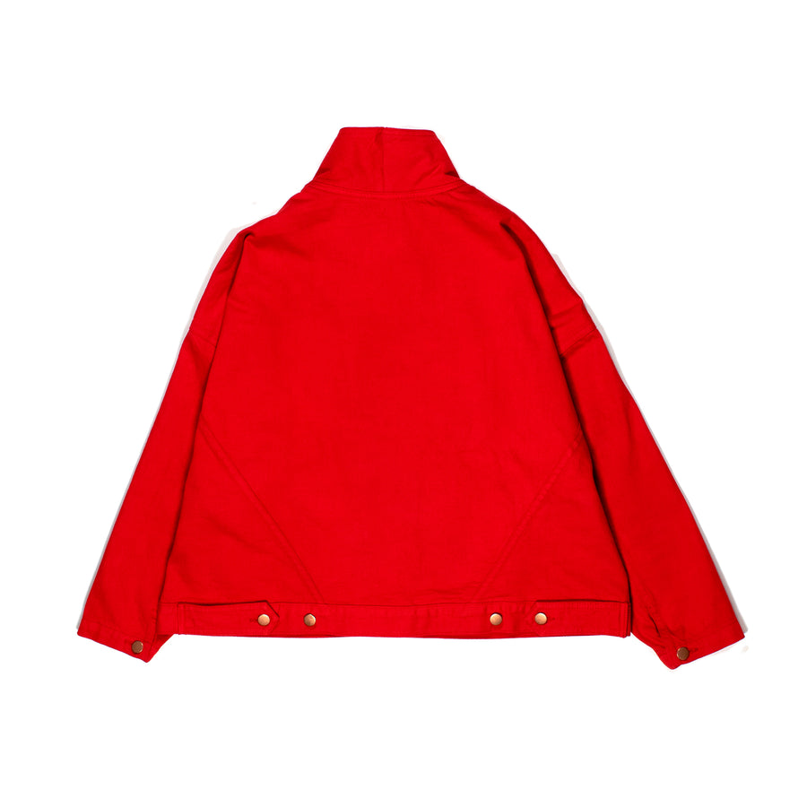 Spiritualized Denim Jacket •  Poppy Red