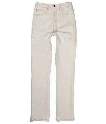 Straight Leg with Stretch • Natural Undyed Denim