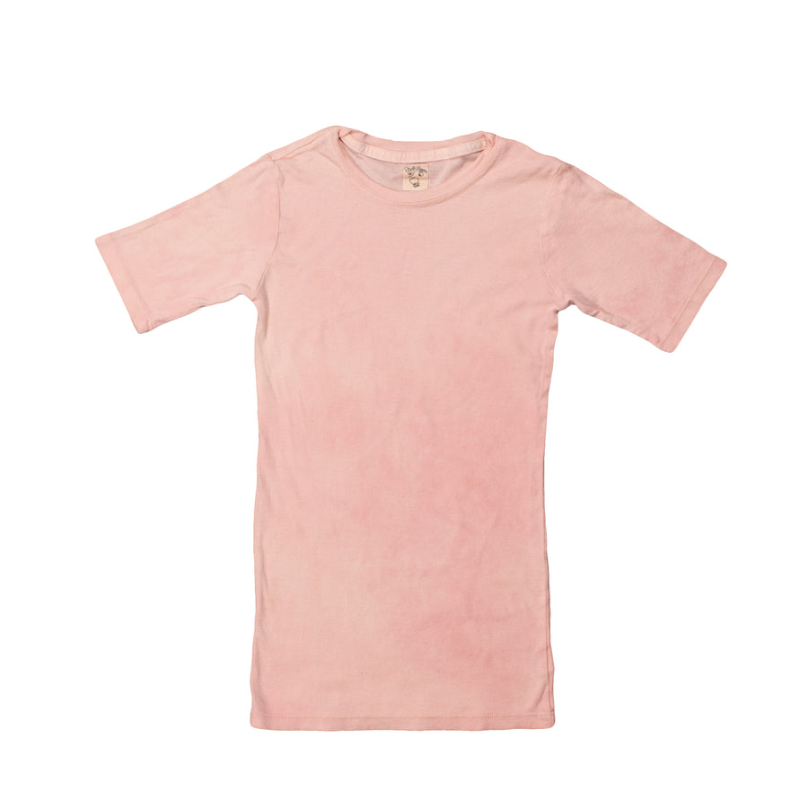 Organic Cotton & Hemp Disco T •  Clay Pink