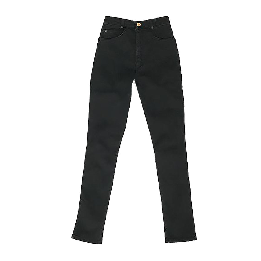 STRETCH Skinny Jeans • Black with no seam