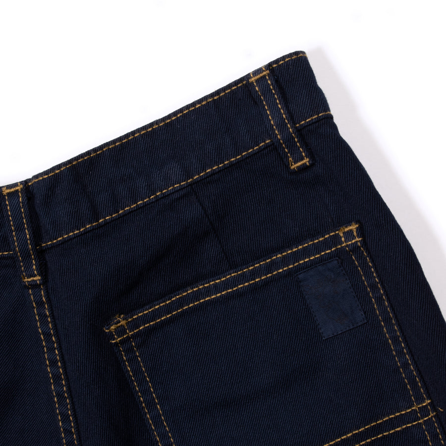 Unisex Trouser • Navy Japanese Denim