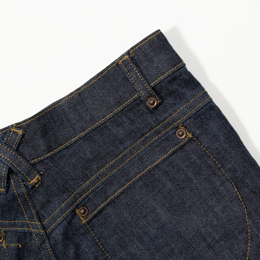 High Waisted Judi Jean • Stretch Denim Dark Wash Indigo