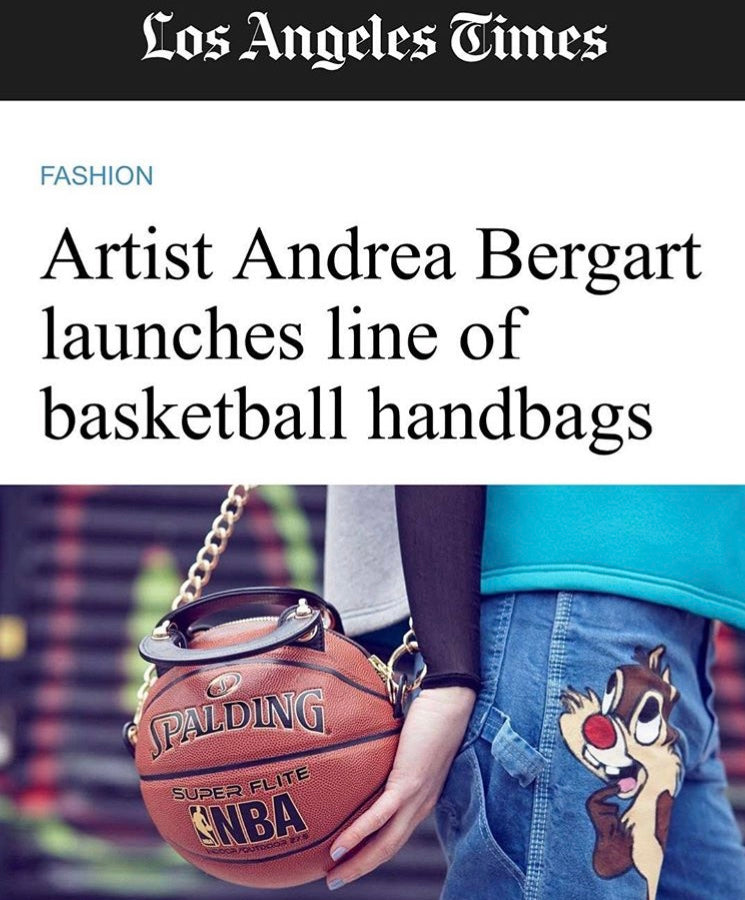 Andrea Bergart • Basketball Purse Clutch