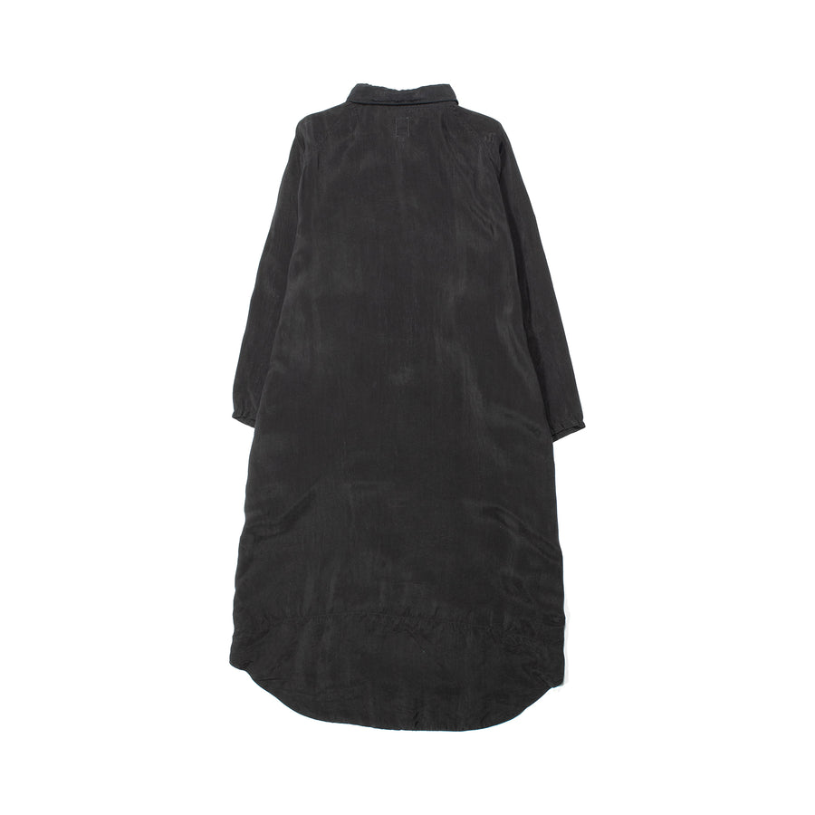 Giant Shirt Dress • BLACK