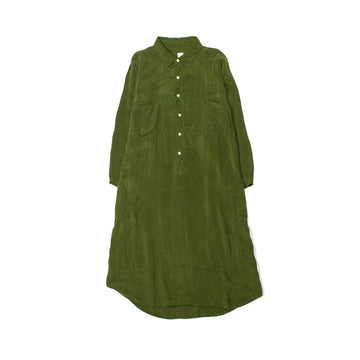 Giant Shirt Dress • ARMY GREEN