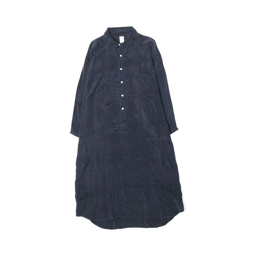 Giant Shirt Dress • BORO BLUE