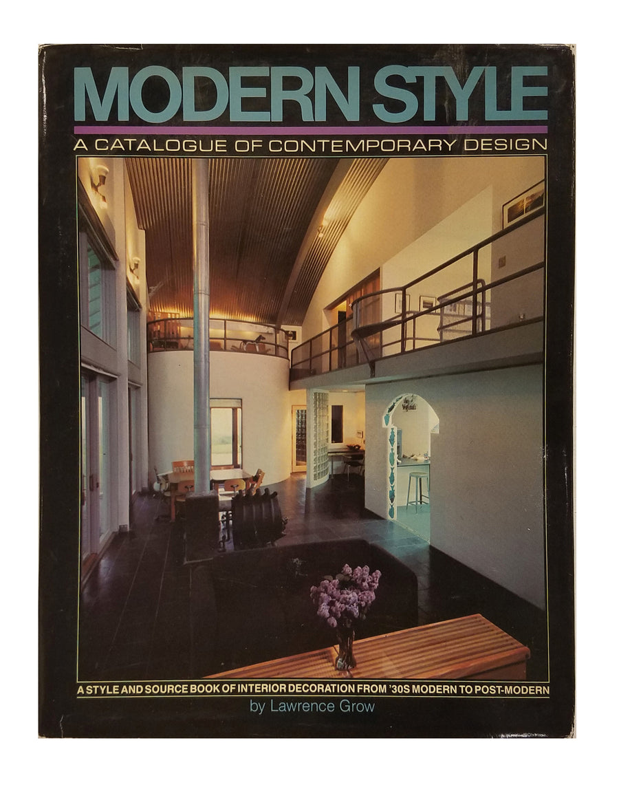 Modern style: A catalogue of contemporary design