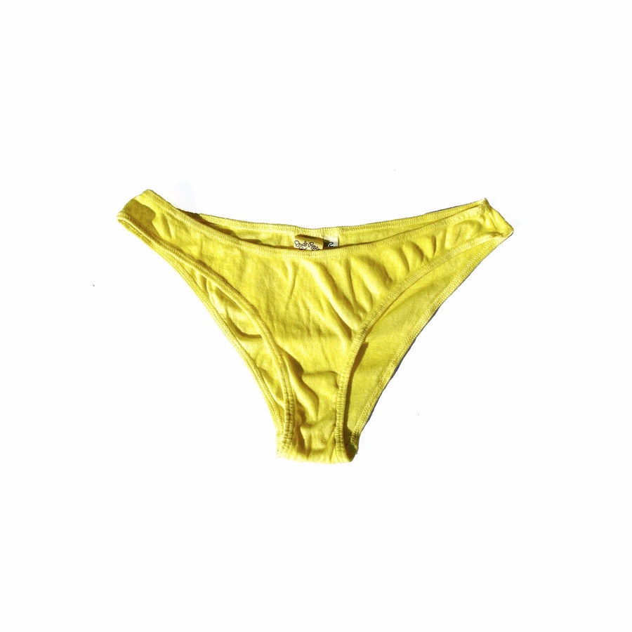 Organic Cotton & Hemp Panties •  Lemon Meringue