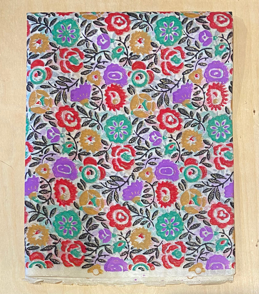 Vintage Wrapping Paper - Floral