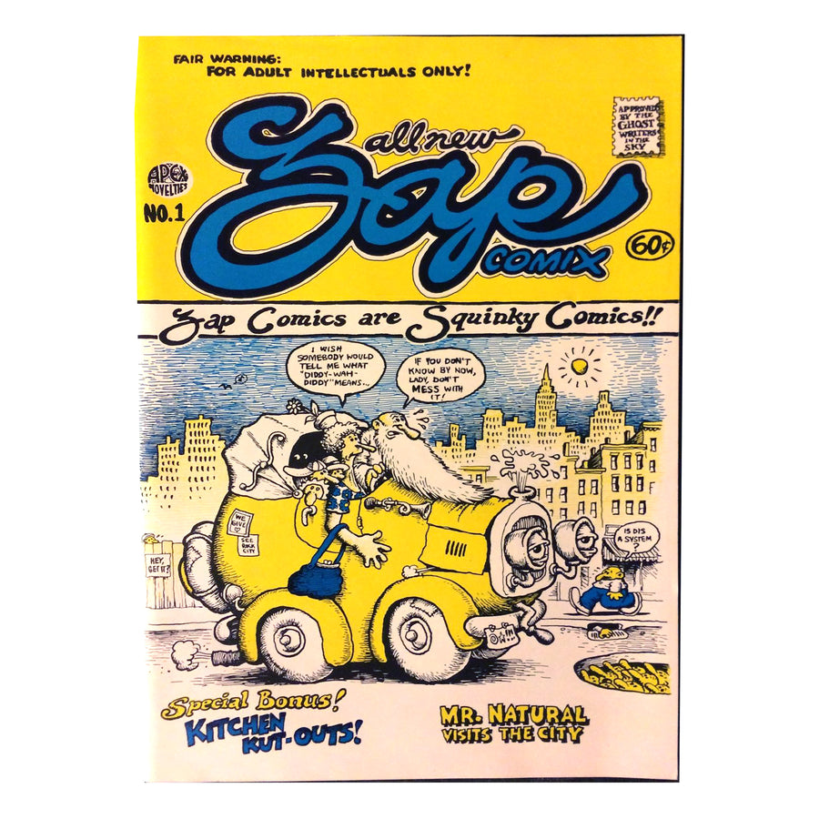 Zap Comix by R. Crumb