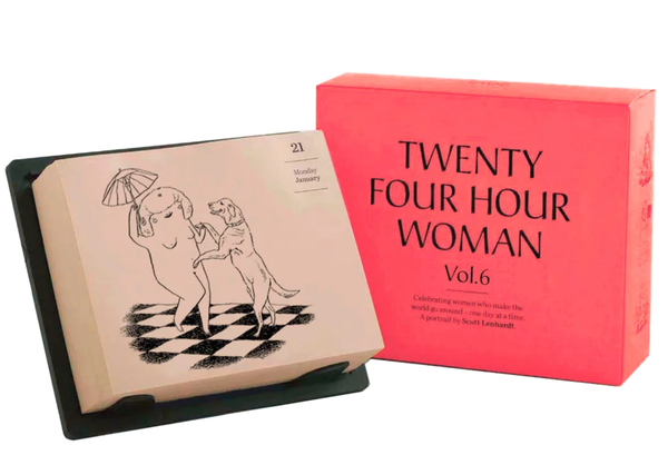 Twenty Four Hour Woman Calendar