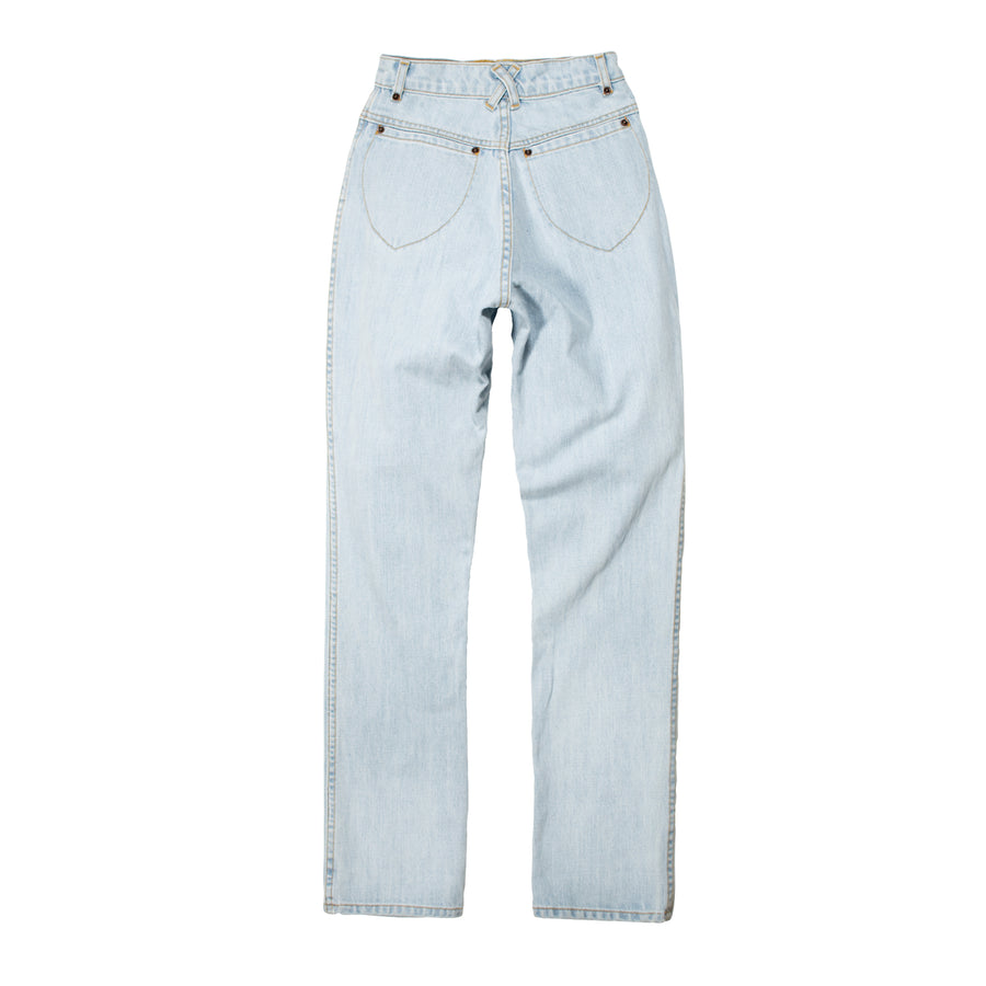 100% Cotton Super Sun Bleach Denim