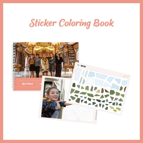 RED VELVET | 레드벨벳 | STICKER COLORING BOOK