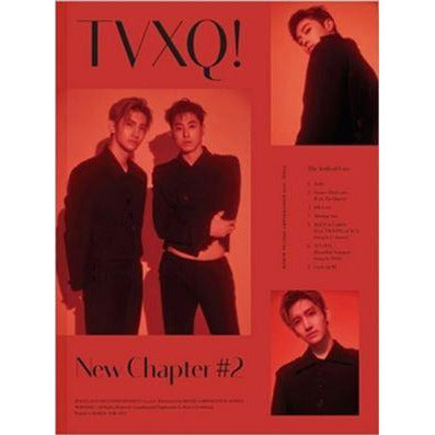 TVXQ | 동방신기 | Special Album : NEW CHAPTER #2 THE TRUTH OF LOVE  [ RED ver ]